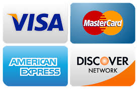 We accept Visa, MasterCard, American Express and Discover | Williams Brothers HVAC & Appliances